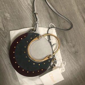 NWT Chloe suede pixie crossbody bag small